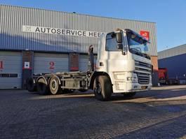 containersysteem vrachtwagen DAF CF 85 410PK 8X2 VDL HAAKARM 25TON 2010