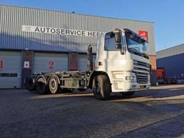 containersysteem vrachtwagen DAF CF85 410PK 8X2 VDL HAAKARM 25TON 2010