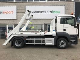 containersysteem vrachtwagen MAN TGS 18.360 4x2 BL Portaalarm 14 ton VDL 2020