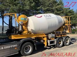 betonmixer oplegger MOL 7x MOL (2/7) LT AUTOMIX AM 10m³ - BELGISCHE PAPIEREN / PAPIERS BELGES - ... 2009