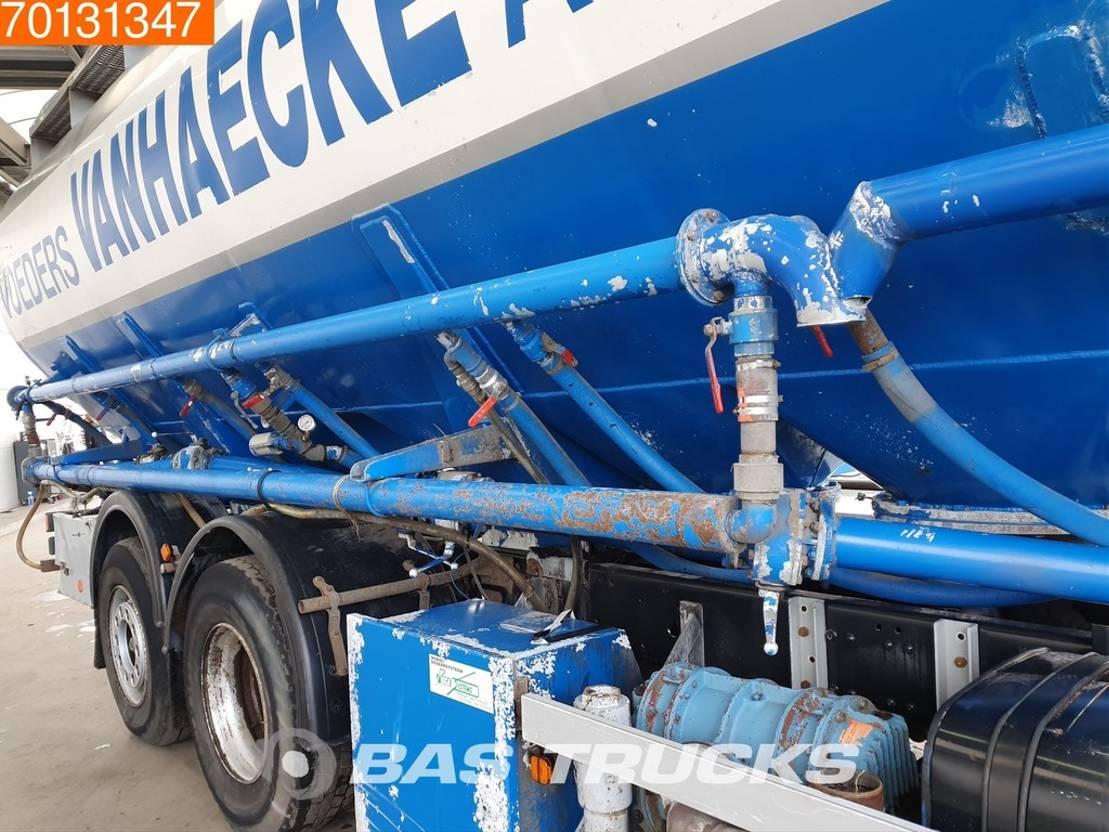 silo vrachtwagen MAN M25.255 6X2 Euro 3 1987