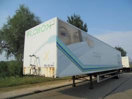 gesloten opbouw oplegger DRACO 1-Axle Box / 2T Loading Lift / / Opslag / Storage 2000