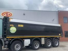 Kipperbak vrachtwagen onderdeel Hyva 3x Hyva kuub 32 m3 kipperbak kipper geïsoleerd asfalt 2012