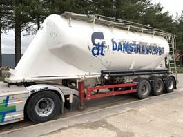 tankoplegger KAESSBOHRER SSL 35/12-27 - 35m3 - (Cement) Silo - Onderlosser - BE papers - goede staat 2001