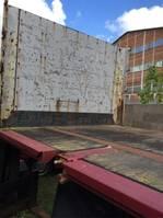 open laadbak oplegger Krone SDP 27 Coil-Mulde Containerverriegelung  SAF 2002