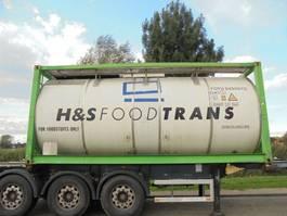 tankcontainer Van Hool 25.250 L Tank / Food-Lebensmittel / 9x In Stock 1998