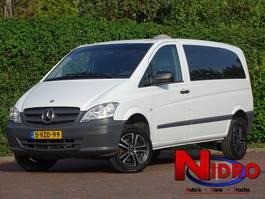 gesloten bestelwagen Mercedes-Benz VITO 113 AUT 4WD LMV GLASLOOK LMV 77OOOKM 2014