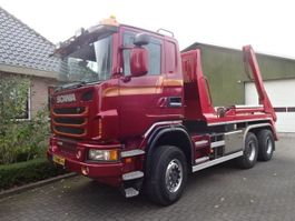 containersysteem vrachtwagen Scania G450 6X6 BB Portaal Systeem 2013