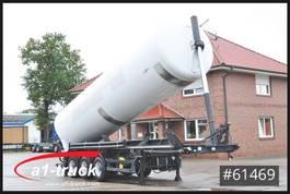silo oplegger SPITZER Kippsilo 53m³  Lenkachse 24V Hydraulik, 2008