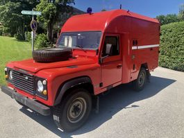 suv wagen Land Rover Defender 110 Camping Cargo LPG 1991