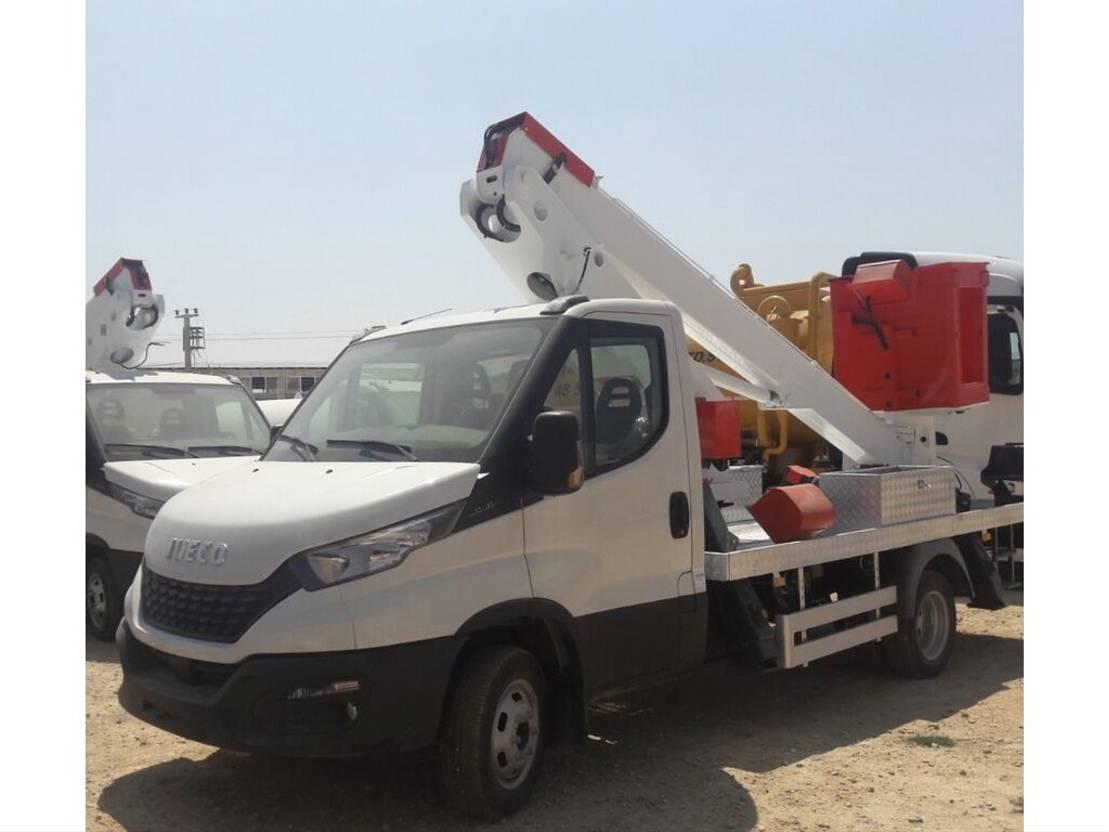 autohoogwerker vrachtwagen Iveco Daily 35c16 New 14 Meters 24 x stock !! 2020