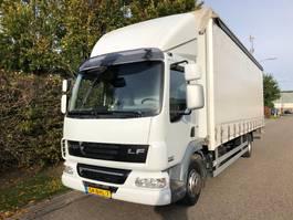 schuifzeil vrachtwagen DAF LF 45 220 EEV euro 5 Schuifzeilen + laadklep , Vangmuil , AHK 2012