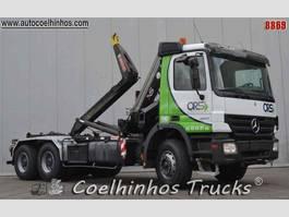containersysteem vrachtwagen Mercedes-Benz 3341 Actros 2004