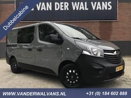 gesloten bestelwagen Opel Vivaro 1.6CDTI 122pk L1H1 6-Persoons Dubbel Cabine   Airco Navi Trekhaak... 2017