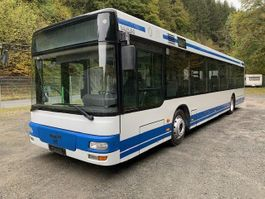 stadsbus MAN A 21 ** Klima / Standhzg./ grüne Plakette ** 2003