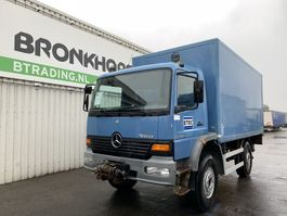 motorhome camper Mercedes-Benz Atego 1318 4X4 Box Body - Full steel - Winch - Dhollandia Tail lift - 5216 2003