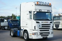 standaard trekker Scania R500 Topine Euro5 Schubbodenhydraulik Retarder