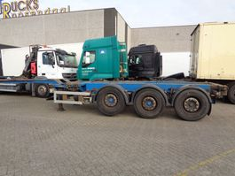 container chassis oplegger Renders Euro 800 + 3 axle 2003