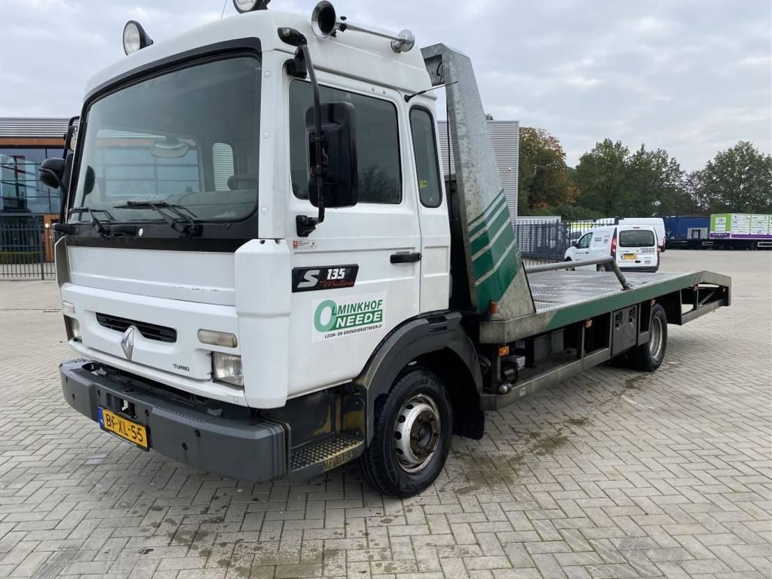 autotransporter vrachtwagen Renault S 135-08-A/A 1997