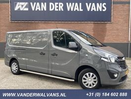 gesloten bestelwagen Opel Vivaro 1.6CDTI 125pk L2H1 Sport Airco, Navi, Camera, sidebars 2018