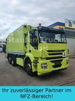 vuilniswagen vrachtwagen Iveco Stralis AD 260S36 ZÖELLER Pressmüll 2011