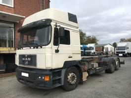 containersysteem vrachtwagen MAN 23.403 1998