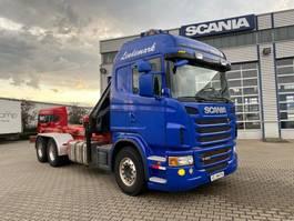 kraanwagen Scania G480 6x4 Grua Hiab 166 + Gancho 2012