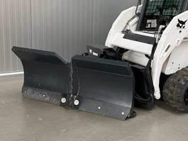 schranklader rups Bobcat Snow plough V-Blade 2014