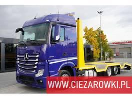 takelwagen-bergingswagen-vrachtwagen Mercedes-Benz Actros 2545 , E6 , 6x2 , Low Deck MEGA , body 8m , 2017