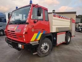 brandweerwagen vrachtwagen Steyr 19S32 4X2 - 8000L Tank + Rosenbauer Pump - Feuerwehr / Pompiers / Firetruck 1995