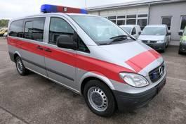 gesloten bestelwagen Mercedes-Benz Vito 111 CDI Lang Automatik KLIMA AHK 6-Sitzer 2004