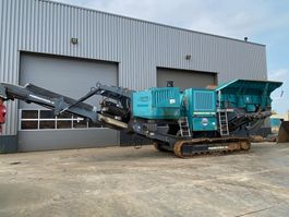 breker Powerscreen Premiertrak PT400 jaw crusher 2015