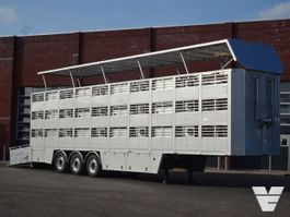 vee oplegger Van Hool Bekkers 3 Stock Livestock trailer NEW - Alloy wheels 2020