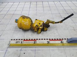 hydraulisch systeem equipment onderdeel Terex Demag Asblokkering ventiel