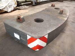 overige equipment onderdeel Grove GMK 4075 counterweight 5 ton