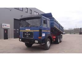 kipper vrachtwagen > 7.5 t MAN 26.280 (BIG AXLE / FULL STEEL SUSPENSION /6 CYLINDER / MANUAL PUMP) 1978