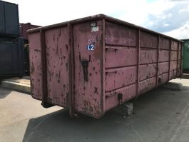 open top zeecontainer Vernooy CONTAINER 8462