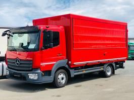 verkoopwagen bedrijfswagen Mercedes-Benz ATEGO 816 L / E 6 / LBW / AHK Kugel / KAMERA
