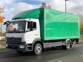 bakwagen vrachtwagen Mercedes-Benz ATEGO 1223 L / LBW 2,0 T /NAVI /SEITENTÜRE / 6 m 2017