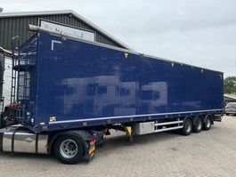 walking floor oplegger Kraker CF-C 93m3 Hydr. zijopening, Liftas 10MM Cargo Floor 2012