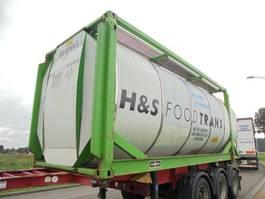 tankcontainer Van Hool 30.860 L Tank / Food-Lebensmittel / 3 Compart. / 9x In Stock
