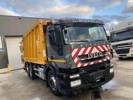 vuilniswagen vrachtwagen Iveco Stralis 310 6X2 + FAUN VARIOPRESS EURO5 2009