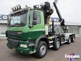 containersysteem vrachtwagen Ginaf X 4241 S 460 8X4 Haakarm +Kraan Euro 5 2009