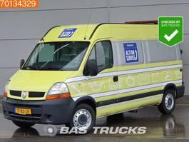 gesloten bestelwagen Renault Master 2.5 dCi 130PK L2H2 Serviceauto 3zits L2H2 10m3 Towbar Cruise control 2005