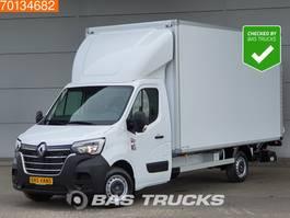 bakwagen bedrijfswagen < 7.5 t Renault Master 145PK NIEUW Bakwagen Laadklep Zijdeur Navi Airco 21m3 A/C Cruise control 2020