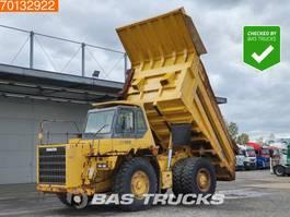 wieldumper Komatsu HD405-6 Good tyres - German rigid truck 2004