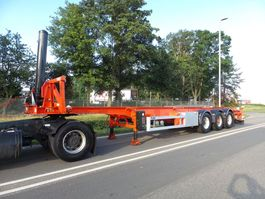 container chassis oplegger LAG 40 ft tipping chassis 2007