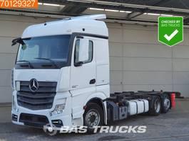 wissellaadbaksysteem vrachtwagen Mercedes-Benz Actros 2542 LS 6X2 Retarder 2x Tanks StreamSpace Euro 6 2013