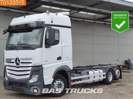wissellaadbaksysteem vrachtwagen Mercedes-Benz Actros 2545 L 6X2 Retarder Liftachse ACC BigSpace Euro 6 2016