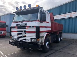 kipper vrachtwagen > 7.5 t Scania R143-500H 6x4 FULL STEEL KIPPER (FULL STEEL SUSPENSIO / REDUCTION AXLES ... 1992